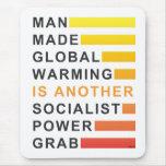 Socialist Power Grab Mouse Pads