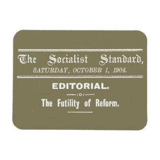Socialist Standard 1904 October Editorial beige Magnet