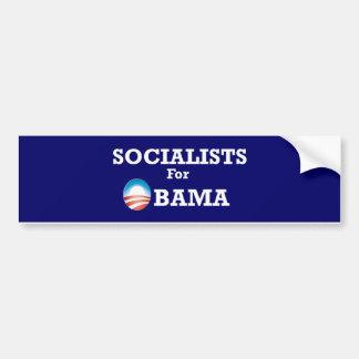 Socialists for Obama bumpersticker Bumper Sticker