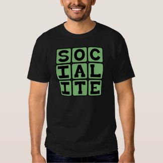 Socialite, Party Goer T-shirt