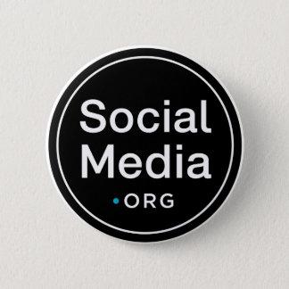 SocialMedia.org 2 Inch Round Button