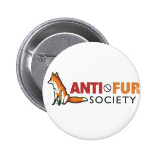 Société d'Anti-Fourrure Pin's Avec Agrafe