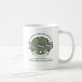 Société nationale de sarcasme mug