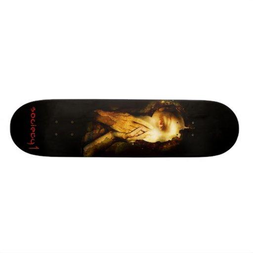 "Society 1 ""Exit Through Fear"" Skateboard"