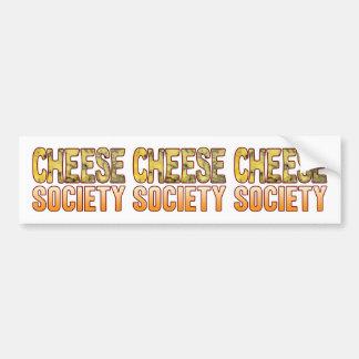 Society Blue Cheese Bumper Sticker