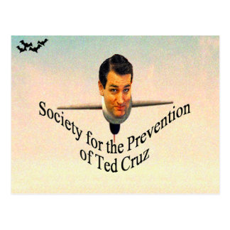 Society for the Prevention of Ted Cruz Postcard