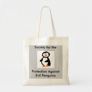 Society for the Protection Against Evil Penguins Bags