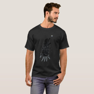 "Society In Hand ""Black & Gray"" Black T-Shirt"