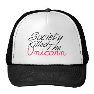 Society Killed The Unicorn Trucker Hat