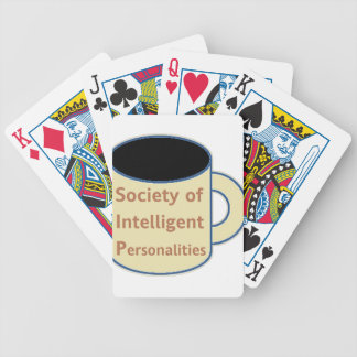 Society of Intelligent Personalities (SIP) Bicycle Playing Cards