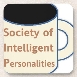 Society of Intelligent Personalities (SIP) Coaster
