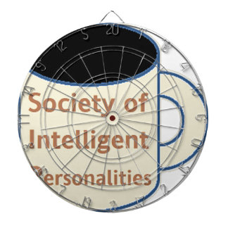 Society of Intelligent Personalities (SIP) Dartboard