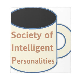 Society of Intelligent Personalities (SIP) Notepad