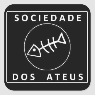 Society Of the Atheists Square Sticker