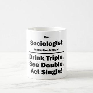 sociologist coffee mug