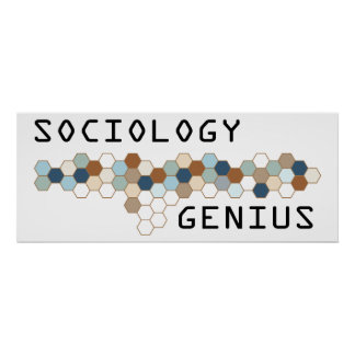 Sociology Genius Poster