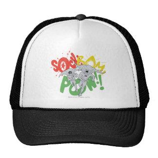 SOCK BAM POW Batman and Robin Trucker Hat