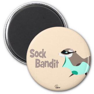 Sock Bandit Funny Ferret Magnet