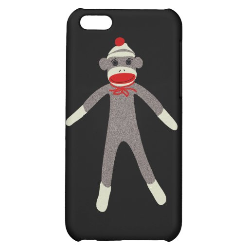 Sock Monkey 4G iPhone Case iPhone 5C Cover