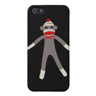 Sock Monkey 4G iPhone Case iPhone 5/5S Covers