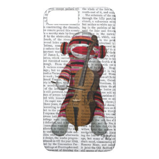 Sock Monkey and Cello iPhone 7 Plus Case