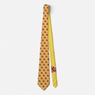 Sock Monkey and Teddy Bear Tie