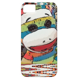 Sock Monkey Art iPhone Case iPhone 5 Covers