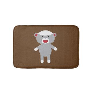 Sock Monkey Bath Mat