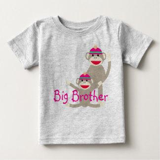 Sock monkey Big Brother infant T-Shirt - AMZ