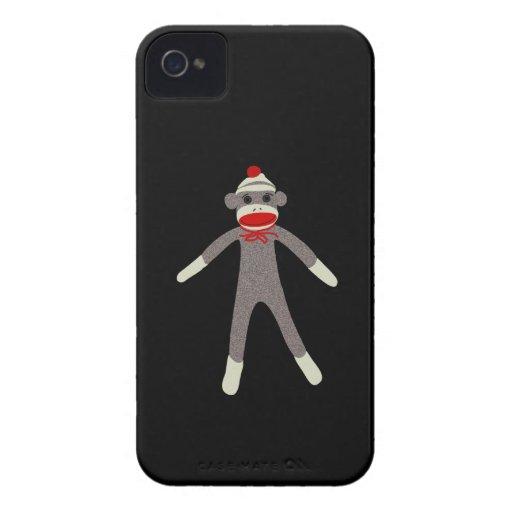 Sock Monkey Blackberry Case