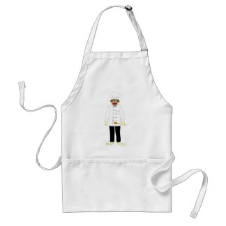 Sock Monkey Chef Standard Apron