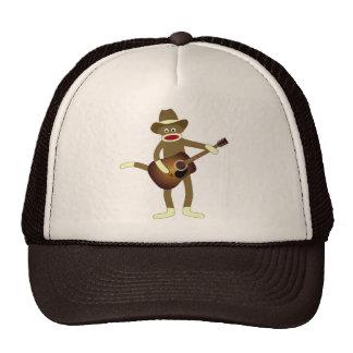 Sock Monkey Country Music Trucker Hat