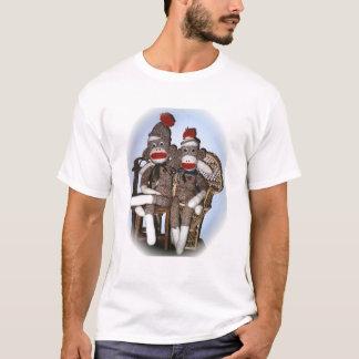 Sock Monkey Couple T-Shirt