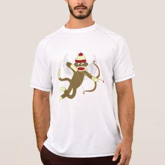 Sock Monkey Cupid T-Shirt