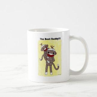 Sock Monkey Daddy 01 Mug