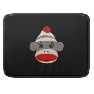 Sock Monkey Face Sleeve For MacBook Pro