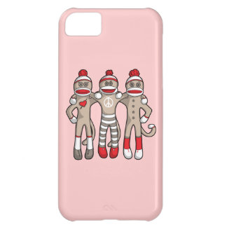 Sock Monkey Friends Forever iPhone 5C Covers