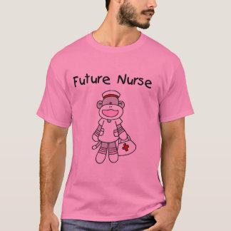 Sock Monkey Future Nurse Tshirts and Gifts