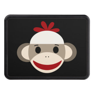 """Sock Monkey Hitch Cover 1.5"""" 2"""" Receiver"""