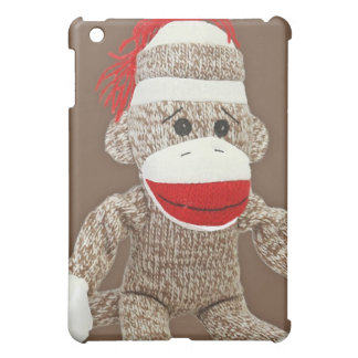 sock monkey ipad case
