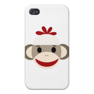 sock monkey iphone 4/4s case