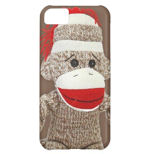 sock monkey iphone 5 case