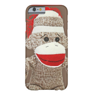sock monkey iPhone 6 case Barely There iPhone 6 Case