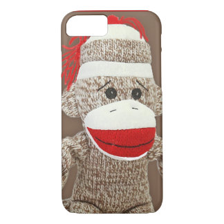 sock monkey iPhone 7 case