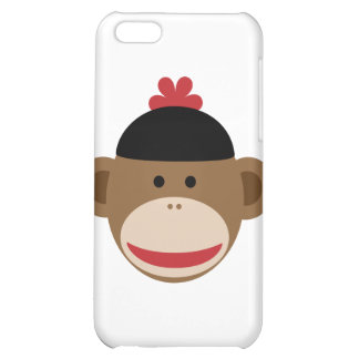 sock monkey iPhone 5C covers