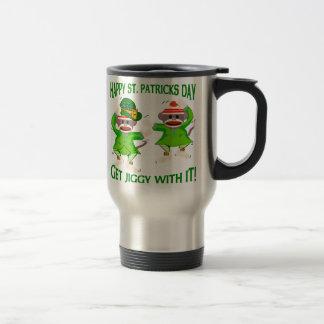Sock Monkey Jig 15 Oz Stainless Steel Travel Mug