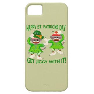 Sock Monkey Jig iPhone 5 Case