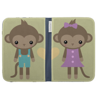 Sock Monkey Love Kindle Case