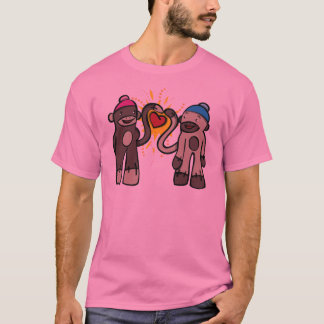 Sock Monkey Love T-Shirt