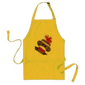 Sock Monkey merchandise products gifts Standard Apron